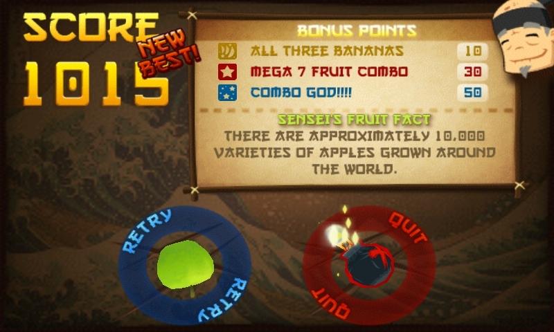 Vos scores à Fruit Ninja Score_fruit_ninja